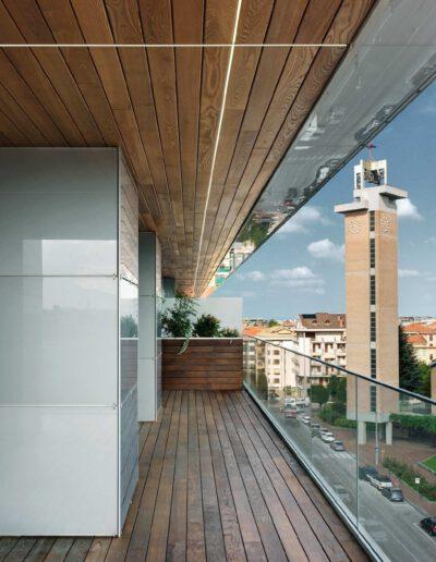 terrazzo coperto e vista